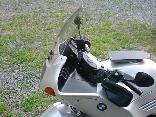 R1150RS windshield up
